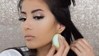 Maquiagem Discreta Para Sair Anoite, Ela Tem Brilho E Muita Beleza!