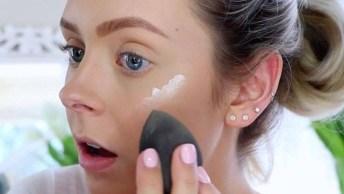 Maquiagem Discreta Para Trabalhar De Dia, Para Mulheres Vaidosas!