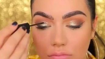 Maquiagem Discreta Para Usar De Noite - Uma Linda Opção Para Você!