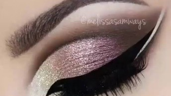 Maquiagem Diva, Olha Só A Cor Desta Sombra Que Maravilhosa!