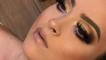 Maquiagem Dourada Para Te Inspirar, Você Vai Gostar Dessa!