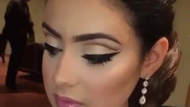 Maquiagem E Penteado De Noiva Para Te Inspirar, Ela Ficou Muito Linda!