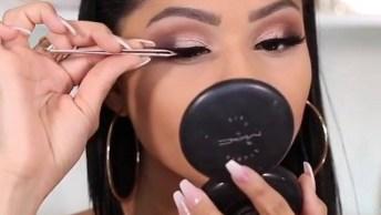 Maquiagem Fácil De Fazer E Super Bonita, Vale A Pena Conferir!