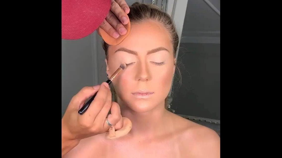 Maquiagem glamorosa para festa