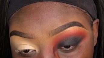 Maquiagem Iluminada Para Pele Negra, O Resultado É Deslumbrante!