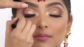 Maquiagem Indiana - O Resultado É Maravilhoso Demais, Confira!