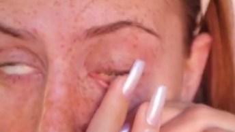 Maquiagem Inspiradora Para Você - Veja Que Lindo O Resultado!