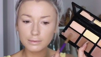 Maquiagem Linda Para Festas De Dia, Veja Como Ela É Leve E Delicada!