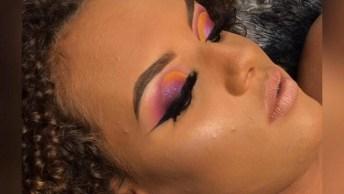 Maquiagem Linda Para Inspirar, Essa Sombra É Lacradora, Confira!