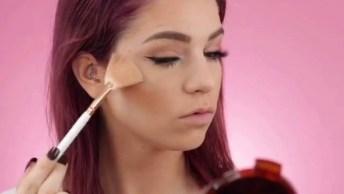 Maquiagem Linda Para O Dia, Olha Só Que Pele Bem Trabalhada!