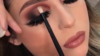 Maquiagem Maravilhosa Com Batom Nude, Para Arrasar Sem Esforço!