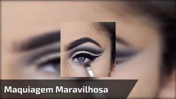 Maquiagem Maravilhosa Para Olhos, Que Perfeição É Essa, Confira!
