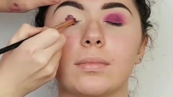 Maquiagem Maravilhosa Para Sair Anoite, O Resultado É Lindo!