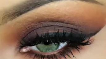 Maquiagem Marrom Que Você Vai Amar, Compartilhe Esse Tutorial!