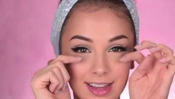 Maquiagem Para Adolescente, Toda Garota Fica Linda Com Essa Make!