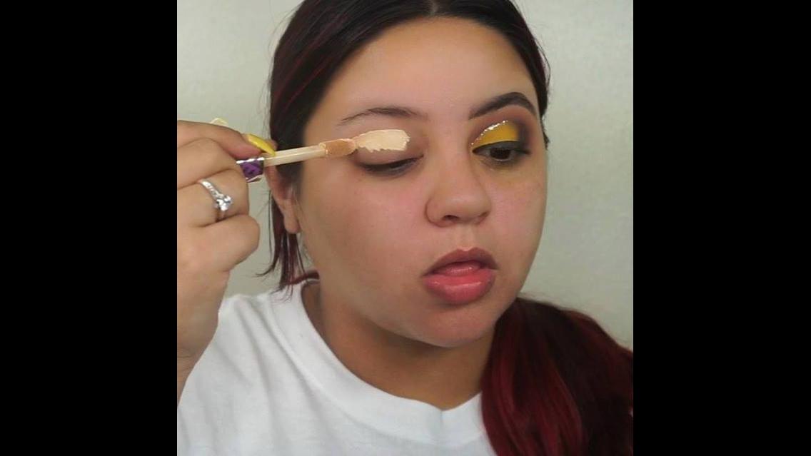 Maquiagem para carnaval, para arrasar com essa cor amarela