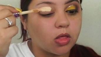 Maquiagem Para Carnaval, Para Arrasar Com Essa Cor Amarela!