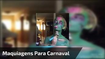 Maquiagem Para Carnaval, São Ideias Para Você Arrasar Na Folia!