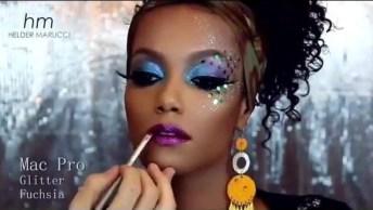 Maquiagem Para Curtir O Carnaval, Com Alegria E Muita Cores!