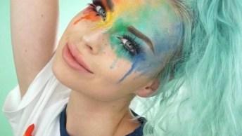 Maquiagem Para Curtir O Carnaval, Um Jeito Divertido Para Pular Muito!