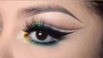 Maquiagem Para Curtir O Primeiro Jogo Do Brasil, Que Ideia Legal!