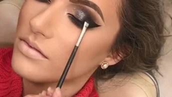 Maquiagem Para Deixar O Olhar Marcante, Que Ideias Incríveis!