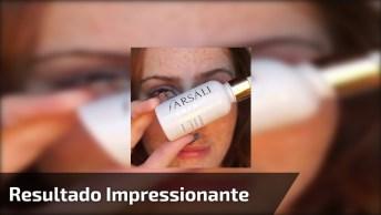 Maquiagem Para Disfarçar Sardas, O Resultado Impressiona, Confira!