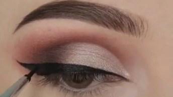 Maquiagem Para Eventos De Dia, Olha Só Que Sombra Delicada!