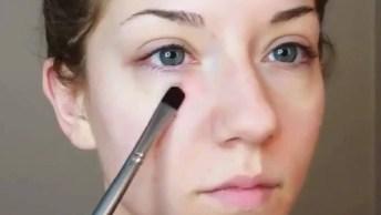 Maquiagem Para Fazer De Manhã, Antes De Ir Para O Serviço!