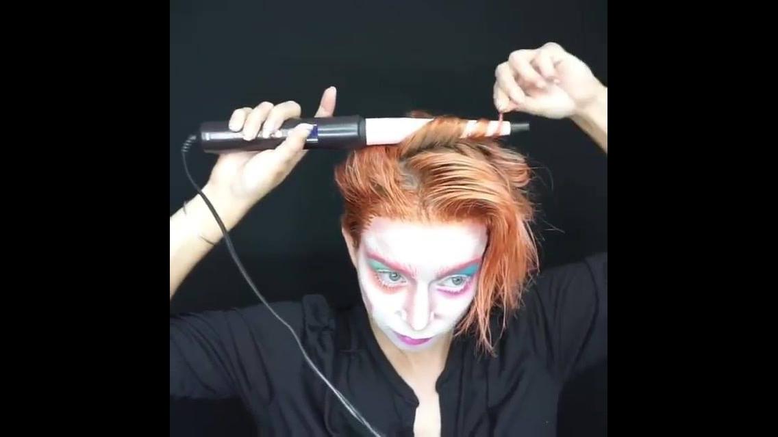 Maquiagem para festa a fantasia, essa é muito louca e divertida!