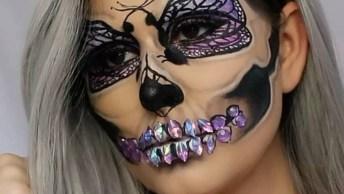 Maquiagem Para Festa A Fantasia, Que Ideia Incrível, Confira!
