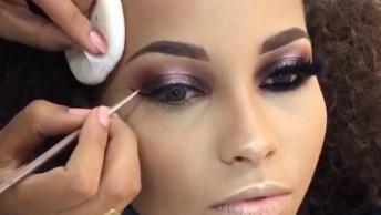 Maquiagem Para Festa - Essa Make É Simplesmente Arrasadora!