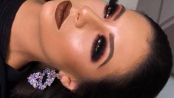 Maquiagem Para Formanda, Olha Só A Cor Desta Sombra Que Linda!