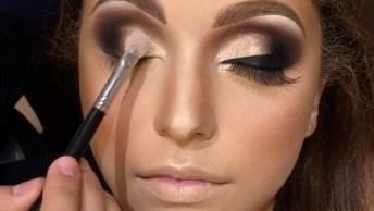 Maquiagem Para Formanda, Olha Só Que Perfeição Esta Sombra!