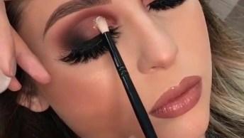 Maquiagem Para Formanda, Veja A Perfeição Desta Sombra, Simplesmente Apaixonante