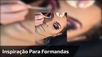 Maquiagem Para Formandas, Veja Estas Sombras Super Trabalhadas E Glamourosas!