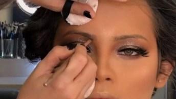 Maquiagem Para Formatura Com Sombra Cor Cristal Maravilhosa!
