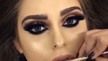 Maquiagem Para Formatura, Olha Só Este Olho Que Arraso, Simplesmente Perfeito!