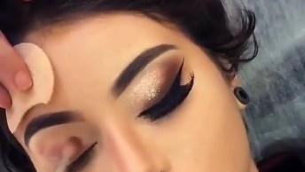Maquiagem Para Formatura, Veja Que Arraso De Sombra Com Pigmento!
