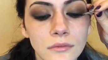 Maquiagem Para Foto, Veja Que Linda Este Antes E Depois, Simplesmente Perfeita!