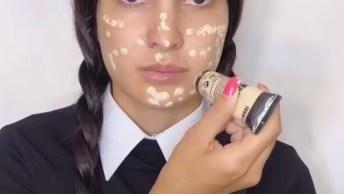 Maquiagem Para Halloween, Mais Uma Que É Bem Fácil De Aprender!