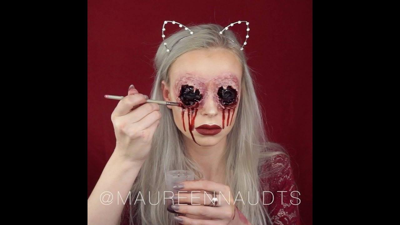 Maquiagem para Halloween, o resultado fica muito legal