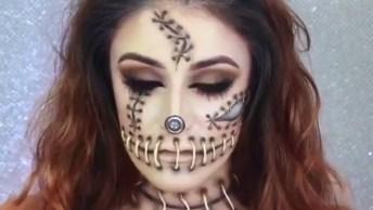 Maquiagem Para Halloween, Que Incrível, Confira E Compartilhe!