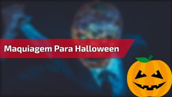 Maquiagem Para Halloween - Sombria E Assustadora, Confira!