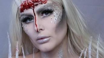 Maquiagem Para Halloween, Tem Como Não Chamar A Atenção Com Essa Make?