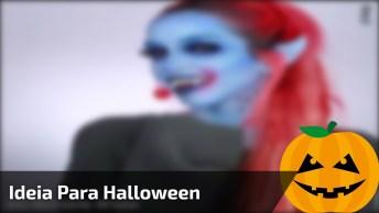 Maquiagem Para Halloween, Veja Que Ideia Incrível Para Arrasar Na Festa!