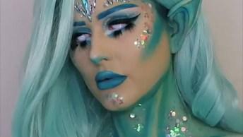 Maquiagem Para Halloween, Veja Que Inspirações Poderosas, Você Vai Se Apaixonar!