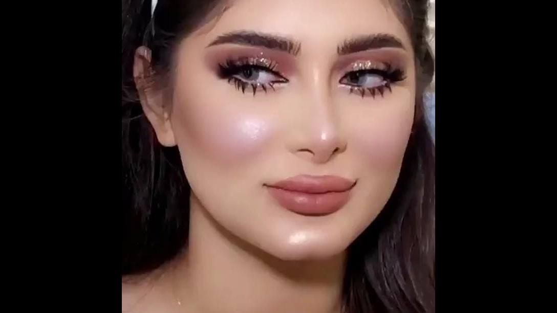 Maquiagem para inspirar, delicada e linda