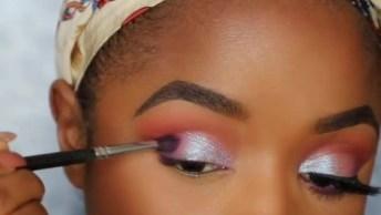 Maquiagem Para Mulheres Com Pele Parda, Ela Ficou Radiante!