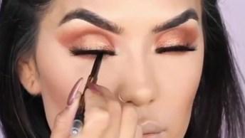 Maquiagem Para Noite, Super Fácil De Fazer E O Resultado É Lindo!